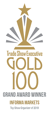 Trade Show Executive Gold 100 Grand Award Winner